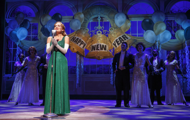 Lora Lee Gayer stars in Holiday Inn, directed by Gordon Greenberg, for Roundabout Theatre Company at Studio 54.