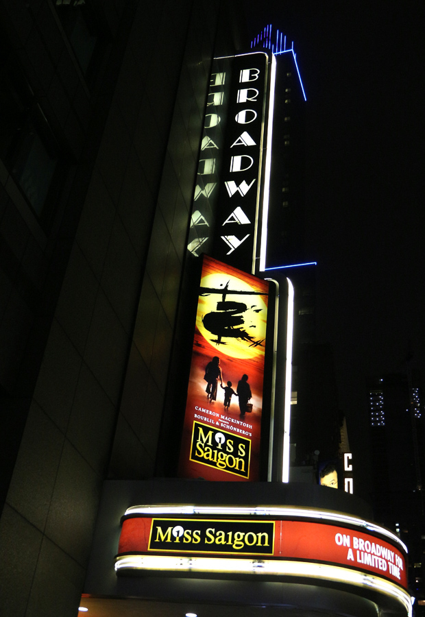 Miss Saigon returns to Broadway on March 1.