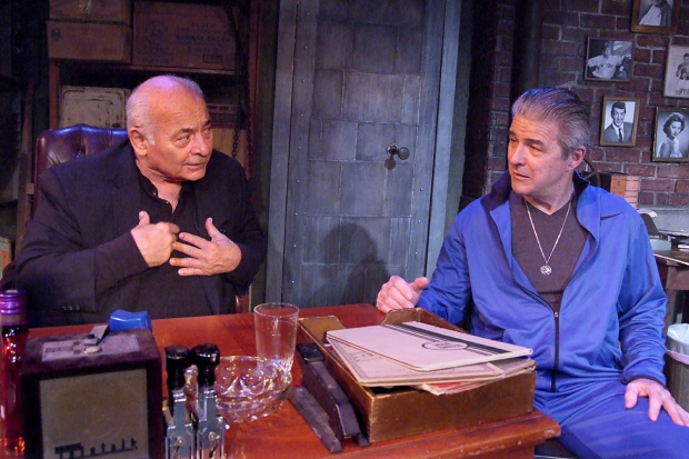 Burt Young and Gareth Williams in David Varriale's The Last Vig at the Zephyr Theatre on Melrose.