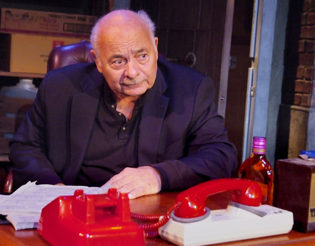 Burt Young stars in The Last Vig, David Varriale's new play at the Zephyr Theatre in Los Angeles.