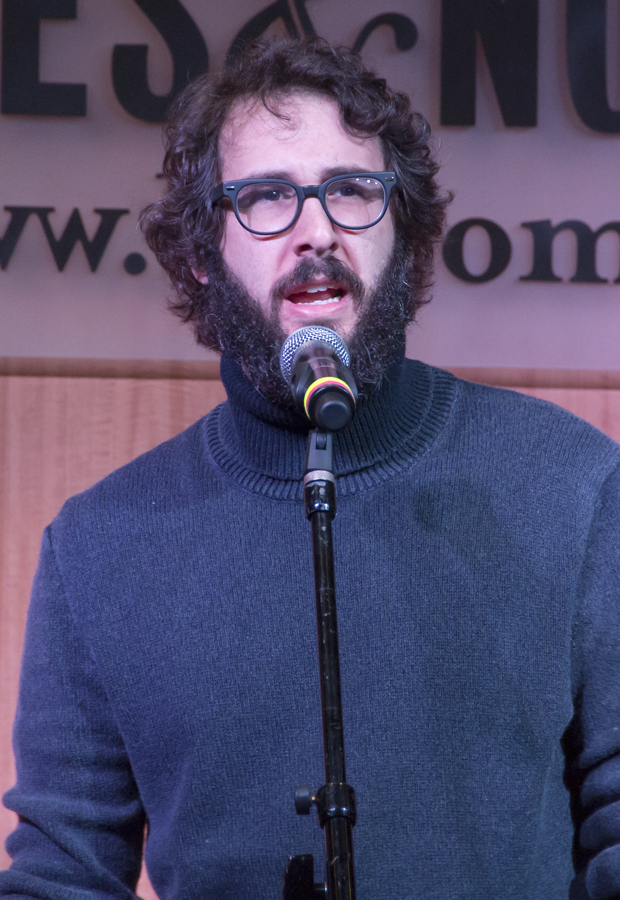 Josh Groban performs in celebration of the new making-of The Great Comet book.