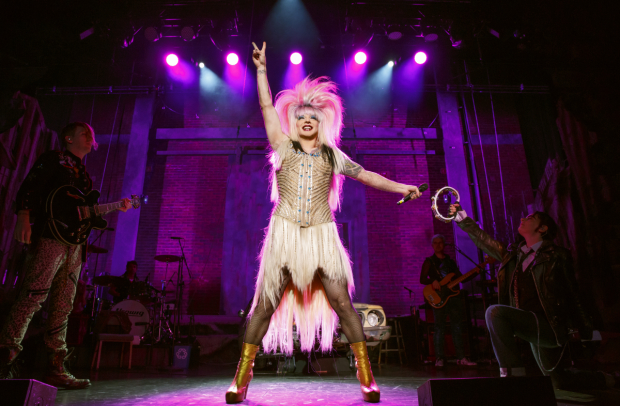 Euan Morton in Hedwig and the Angry Inch on tour.