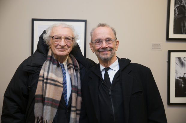 Sheldon Harnick and Joel Grey attended in honor of International Holocaust Remembrance Day.