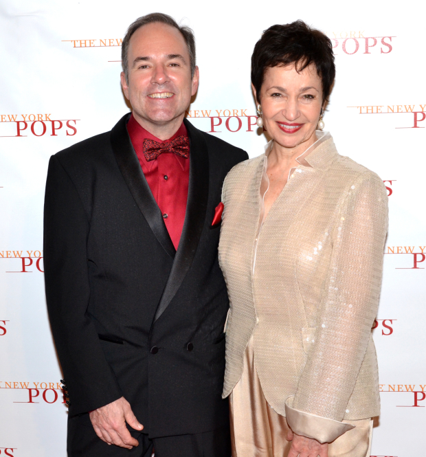 Stephen Flaherty and Lynn Ahrens will be honored by Amas Musical Theatre on April 3.