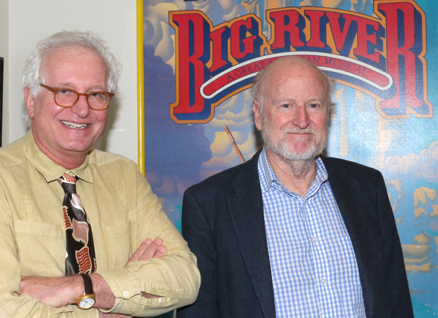 Jack Viertel, artistic director of New York City Center Encores!, and Rocco Landesman, original Broadway producer of Big River.