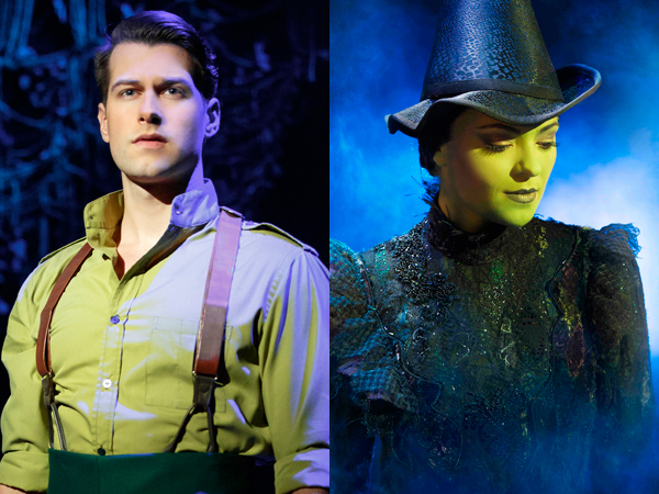 Michael Campayno and Jennifer DiNoia are the current Fiyero and Elphaba in Broadway's Wicked.