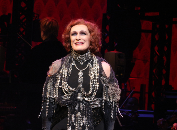 Glenn Close takes her bow as Sunset Boulevard opens on Broadway.