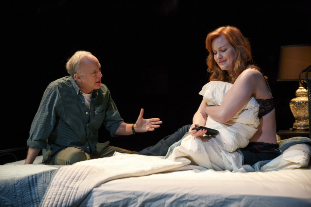 Reed Birney plays Ken and Heidi Armbruster plays Pat Monday in Man From Nebraska.