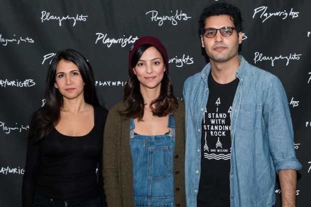 Francis Benhamou, Tala Ashe, and Babak Tafti star in Zayd Dohrn's The Profane, directed by Kip Fagan, at Playwrights Horizons.