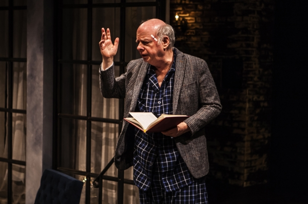 Wallace Shawn plays Dick in his new play, Evening at the Talk House.
