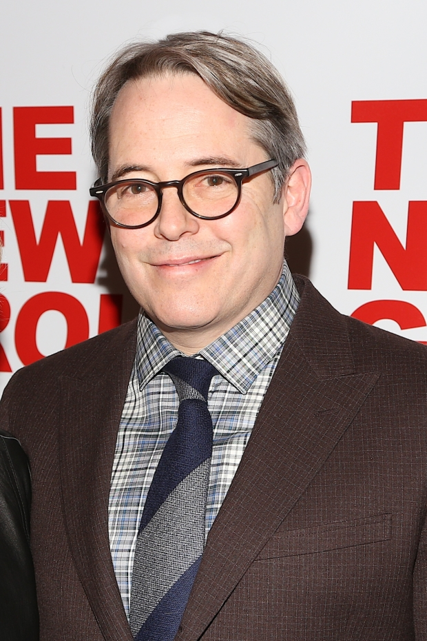 Matthew Broderick stars as Robert in Evening at the Talk House, directed by Scott Elliott, at Pershing Square Signature Center.
