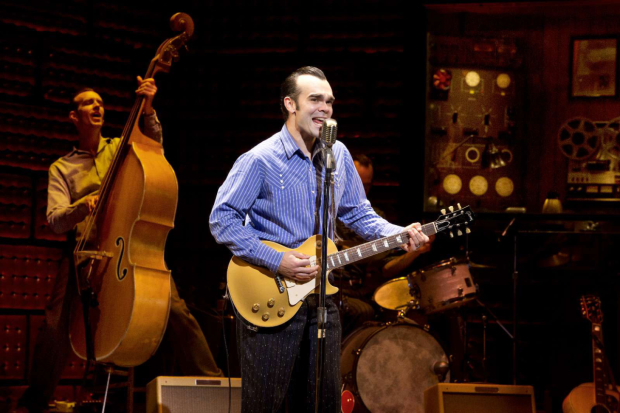 James Barry in the national tour of Million Dollar Quartet, coming to Paper Mill Playhouse this March.