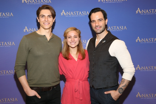 Derek Klena, Christy Altomare, and Ramin Karimloo lead the cast of Anastasia, directed by Darko Tresnjak.
