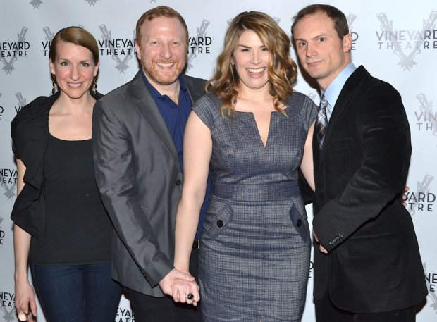 Susan Blackwell, Hunter Bell, Heidi Blickenstaff, and Jeff Bowen are the original stars and creators of the Broadway musical [title of show].
