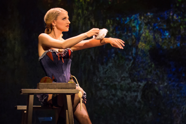 Annaleigh Ashford stars as Dot in the Broadway revival of Sunday in the Park With George.
