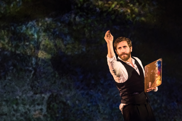 Jake Gyllenhaal plays artist Georges Seurat in Sunday in the Park With George.