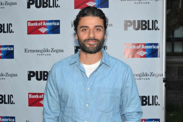 Oscar Isaac will star in Hamlet at the Public Theater.
