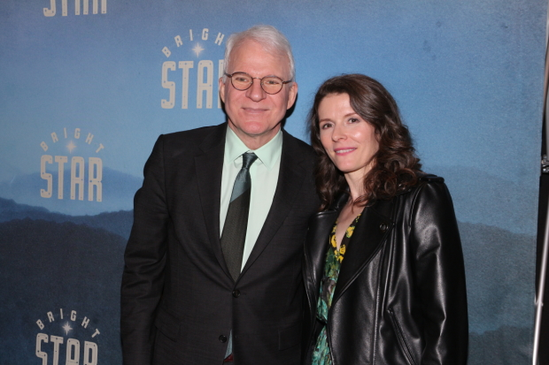 Steve Martin and Edie Brickell's Bright Star will play the Ahmanson Theater.