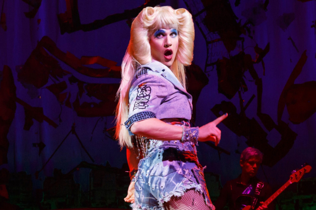 Darren Criss earned a Los Angeles Drama Critics Circle nomination for his performance in Hedwig and the Angry Inch.