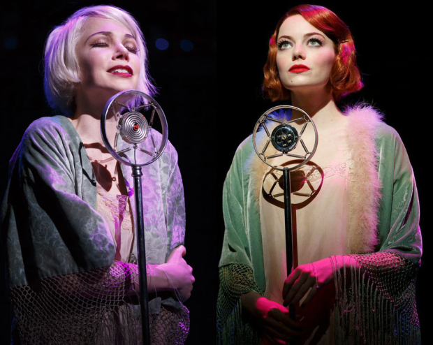 Michelle Williams and Emma Stone are both nominated for Oscars this year, and have both played Sally Bowles in Cabaret on Broadway.