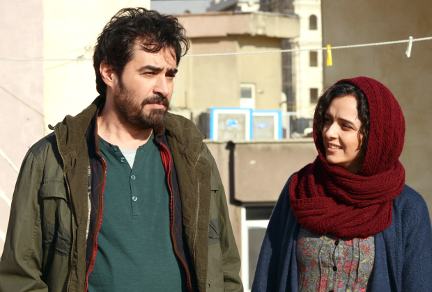 Shahab Hosseini and Taraneh Alidoosti in Asghar Farhadi's film The Salesman.
