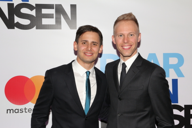 Benj Pasek and Justin Paul are the Oscar-winning scribes behind La La Land.