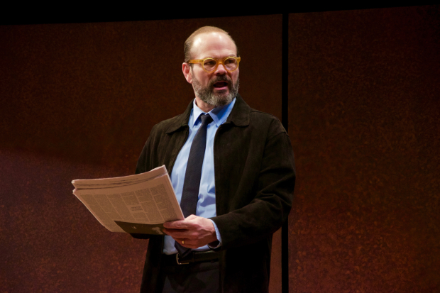 Chris Bauer stars in David Mamet's The Penitent, directed by Neil Pepe, at Atlantic Theater Company.