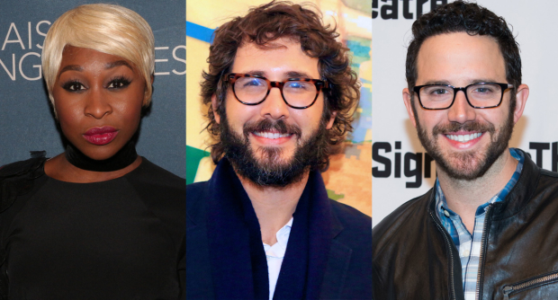 Cynthia Erivo, Josh Groban, and Santino Fontana will take part in Broadway Backwards.