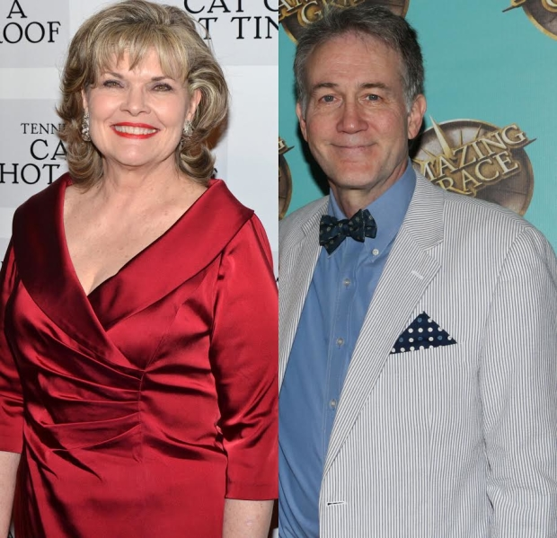 Debra Monk and Boyd Gaines star in Mrs. Miller Does Her Thing, written and directed by James Lapine, at Signature Theatre.