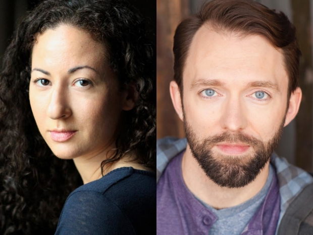 Kristina Valada-Viars and Cody Proctor star in Gabe McKinley's The Source, directed by Jason Gerace for Route 66 Theatre Company, at the Den Theatre.