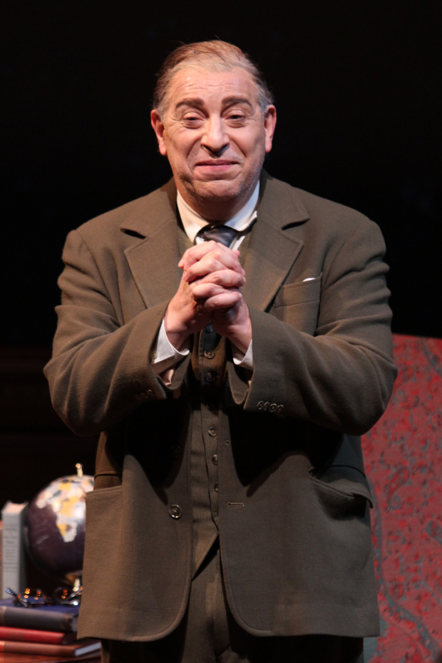 Max McLean as C.S. Lewis in The Most Reluctant Convert.