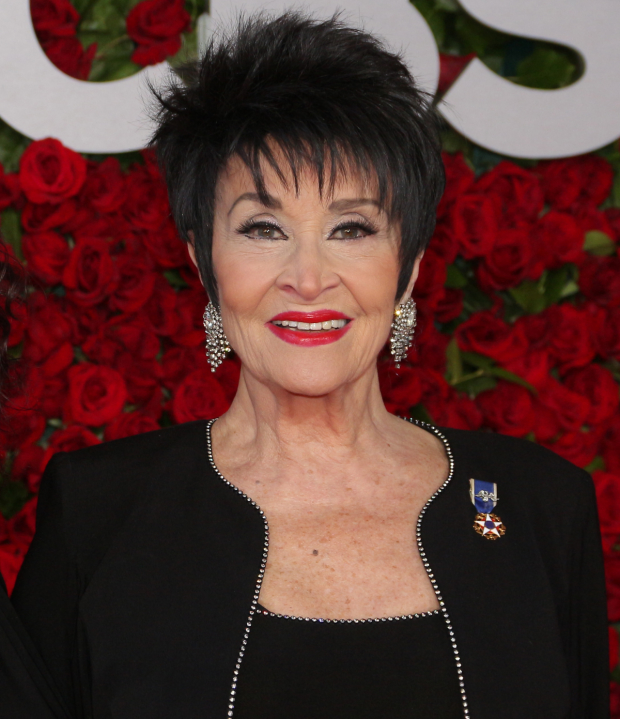 Chita Rivera will take place in March's Concert for America in Chicago.