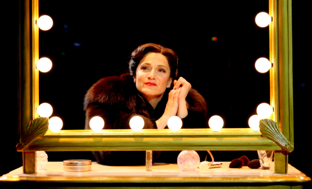 Shoshana Bean as Fanny Bryce in North Shore Music Theatre's 2016 production of Funny Girl.