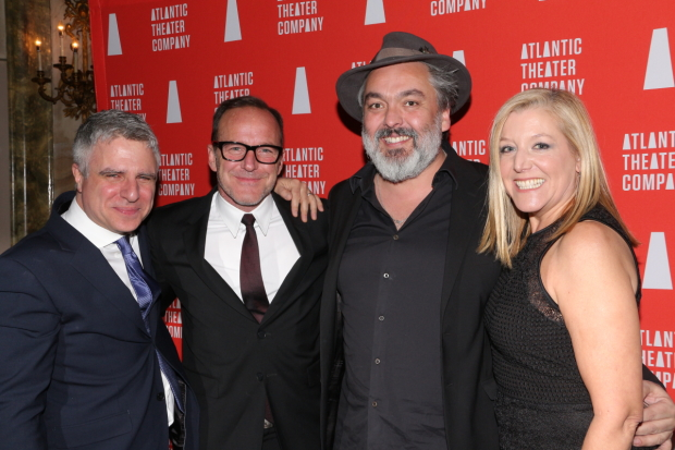 Atlantic Artistic Director Neil Pepe and School Director Mary McCann are joined by theater regulars Clark Gregg and Jez Butterworth.