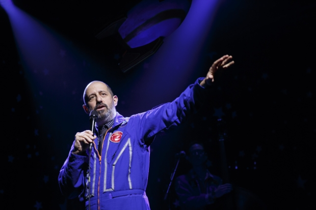 Ethan Lipton stars in The Outer Space, directed by Leigh Silverman, at Joe's Pub.