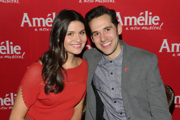 Phillipa Soo and Adam Chanler-Berat will record the cast album of Broadway's Amélie.