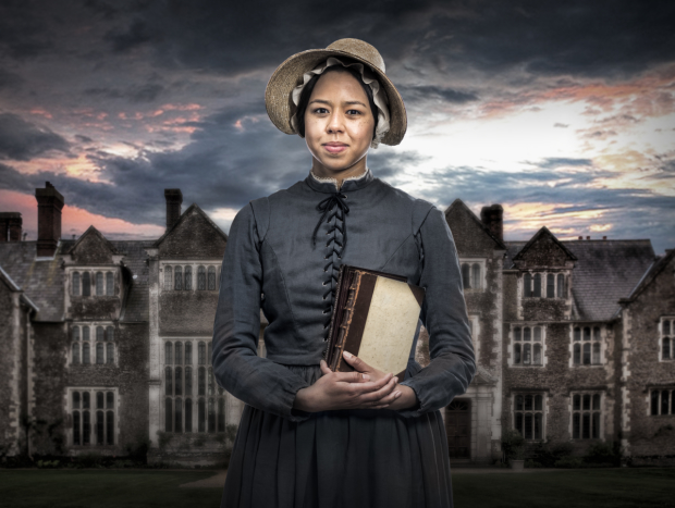 Margaret Ivey stars in the title role of Jane Eyre, directed by K.J. Sanchez, at Cincinnati Playhouse in the Park.