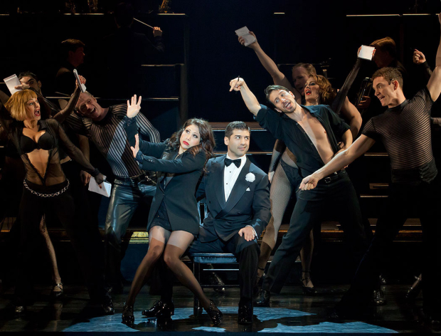 Tony Yazbeck with Bianca Marroquin in the cast of Chicago.