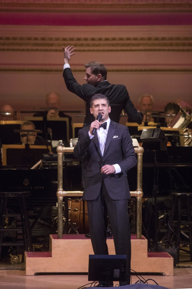 Tony Yazbeck returns to Chicago as Billy Flynn Tuesday, March 14.