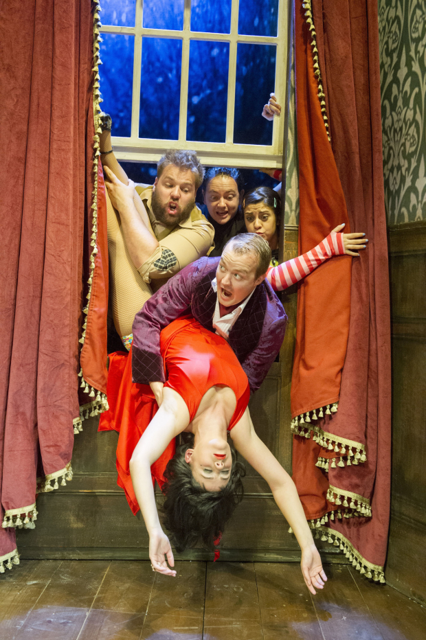 The Play That Goes Wrong is currently running at the Lyceum Theatre.