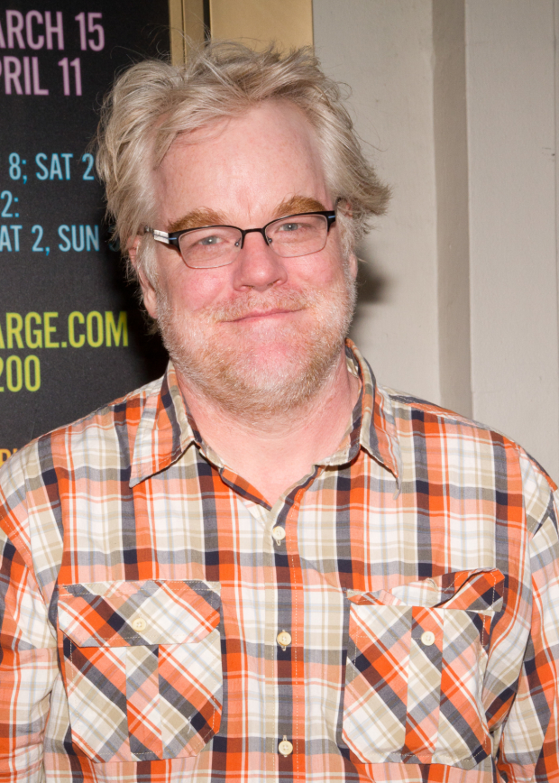 Philip Seymour Hoffman is memorialized with the American Playwriting Foundation's Relentless Award.