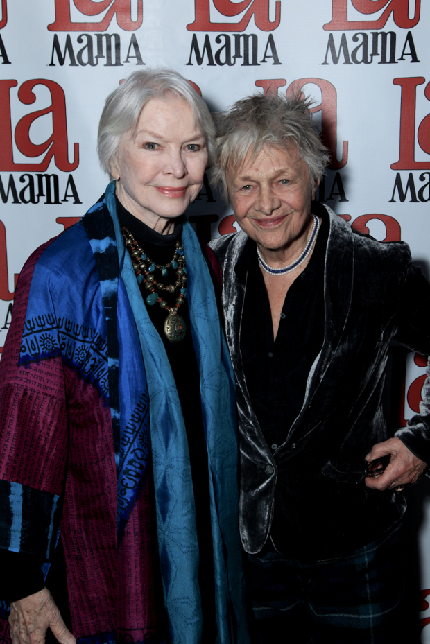 "Ellen Burstyn and Estelle Parsons celebrate both ""Actors Studio Day"" and opening night of The Last Days of Judas Iscariot."