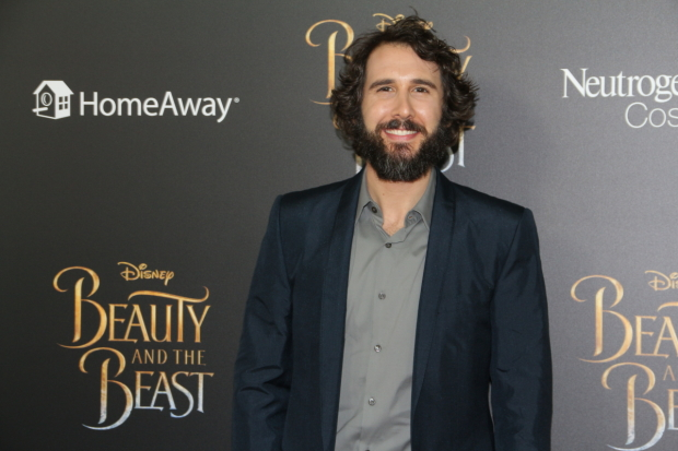 Josh Groban, current star of Broadway's The Great Comet recorded the film's new song Evermore.