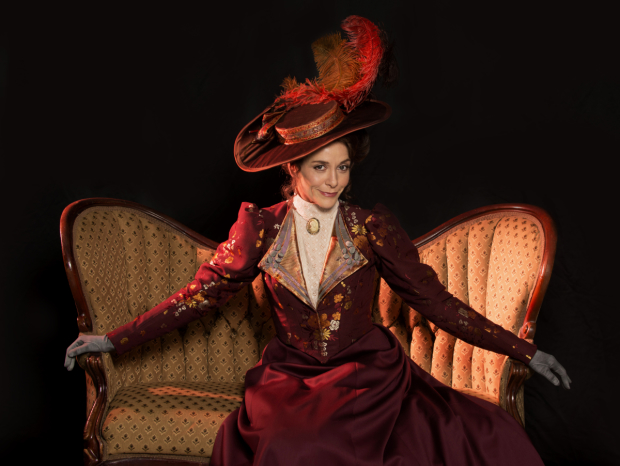 Tracy Michelle Arnold plays Regina in Lillian Hellman's The Little Foxes directed by Frank Galati, at Asolo Repertory Theatre.