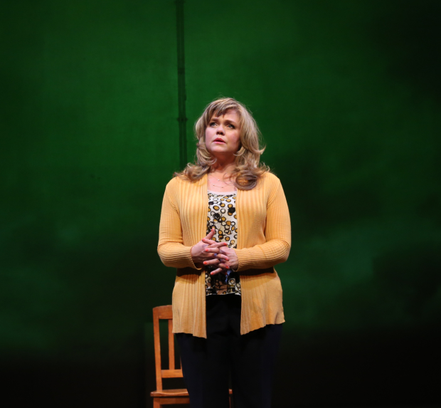 Ana Reeder stars as Ginnifer in the Keen Company production of Courtney Baron's When It's You, directed by Jonathan Silverstein, at the Clurman Theatre at Theatre Row.