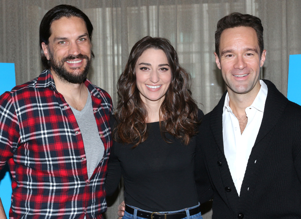 Will Swenson, Sara Bareilles, and Chris Diamantopoulos are the new stars of Broadway's Waitress.