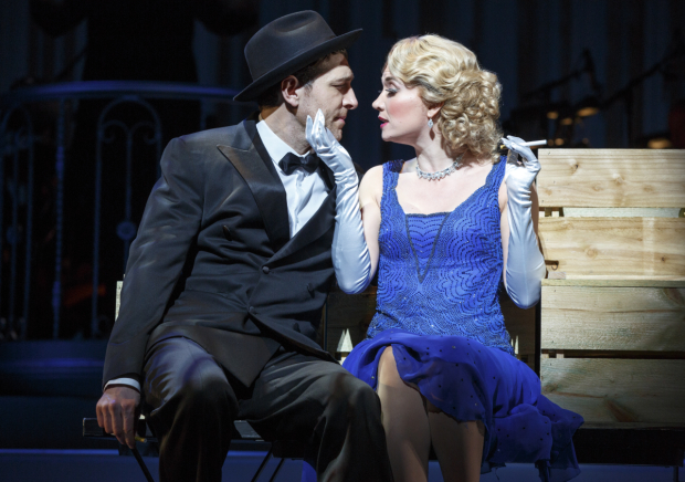 Tam Mutu and Scarlett Strallen in the New York City Center Encores! production of The New Yorkers.