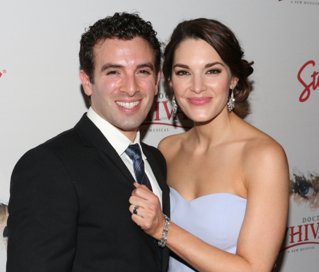 Jarrod Spector and Kelli Barrett will bring their new show Look at It My Way to Feinstein's/54 Below.