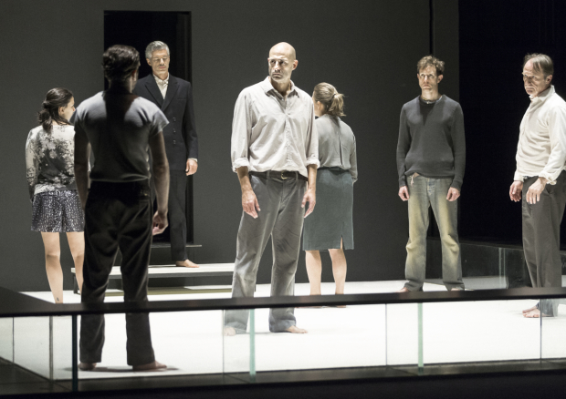 A scene from the Broadway production of Arthur Miller's A View from the Bridge, directed by Ivo van Hove.