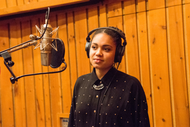 Barret Doss lays down tracks for the Groundhog Day cast album, releasing digitally April 14.